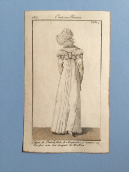 1812, steel engraving, Costume Parisien https://johulsteinsfineprints.wordpress.com